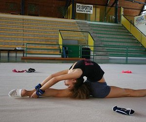 fitness, flexible, and dance image