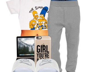 chill, nike, and outfit image