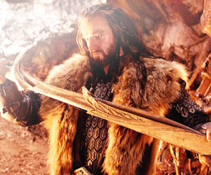 the hobbit and thorin image