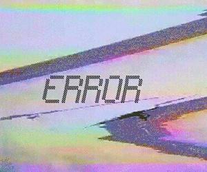 error, grunge, and indie image