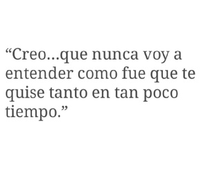 tumblr, frases de amor, and spanish quotes image