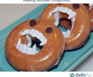 breakfast, diy, and donuts image
