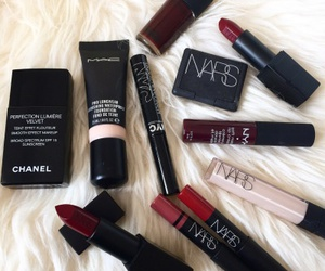 channel, nars, and makeup image