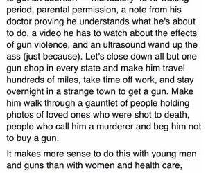 abortion, art, and guns image