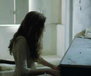 birdy, piano, and music image