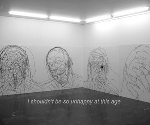 alone, mind, and sad image