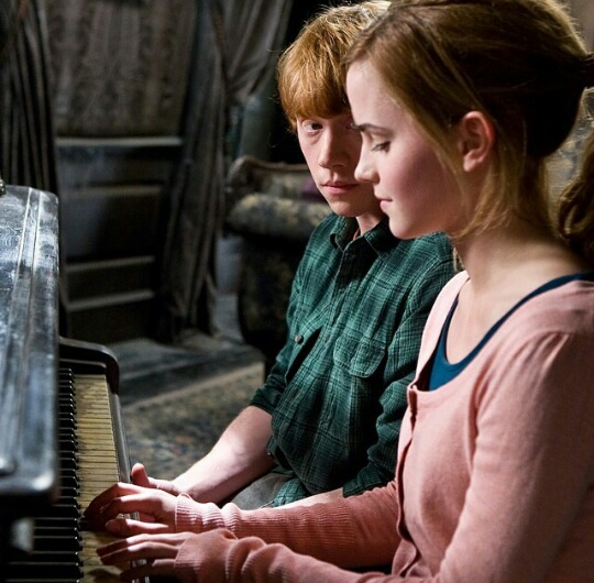 harry potter, hermoine granger, and ship image
