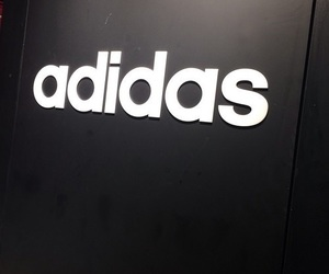 adidas, pale, and black image