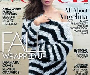 Angelina Jolie, beautiful, and magazine image