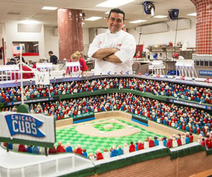 cake, chicago cubs, and stadium image