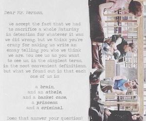 The Breakfast Club, movie, and quote image