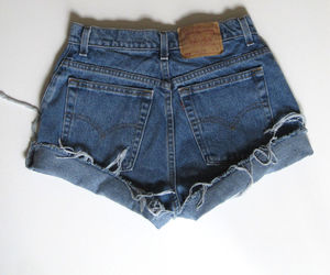hipster, levis, and shorts image