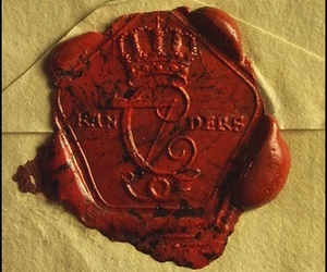 antique, seal, and wax image