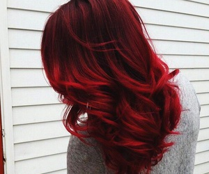 hair, red, and hairstyle image