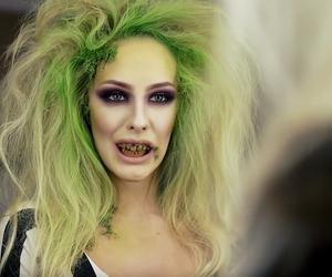 fashion, Halloween, and make-up image