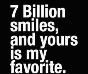 smile, love, and favorite image