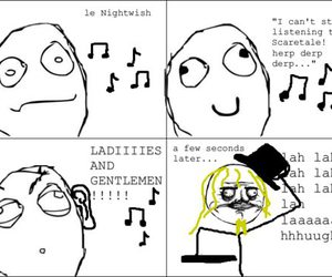 funny, nightwish, and text image