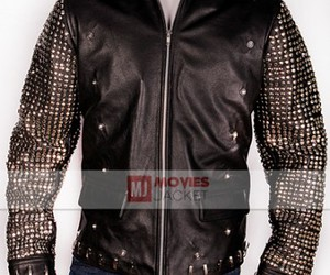 comic con, leather jacket, and mens fashion image