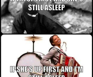 drums, love, and funny image