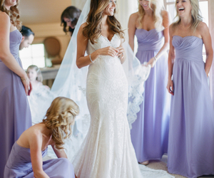 bridesmaid dresses, bridesmaid dress, and chiffon bridesmaid dress image