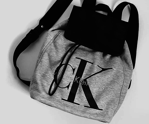 Calvin Klein, fashion, and backpack image