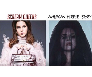 scream queens, lana del rey, and ahs image