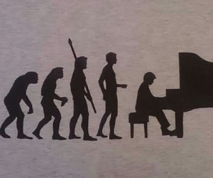 music, piano, and onelove image