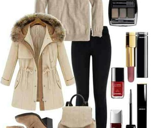 cold, outfit, and warm image