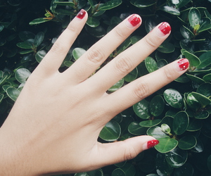 nail, red, and vscocam image