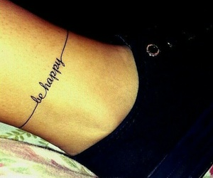 tattoo and be happy image
