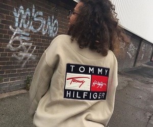 fashion, hoodie, and tommy hilfiger image