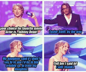 johnny depp and Taylor Swift image