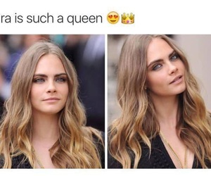 Queen and cara delevingne image