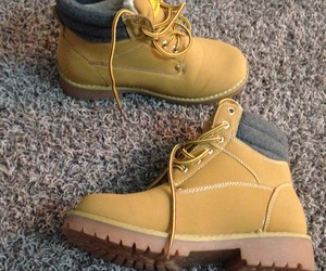 new, shoes, and timberland image