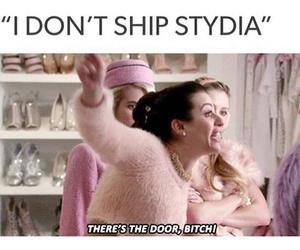 ship, stydia, and teen wolf image