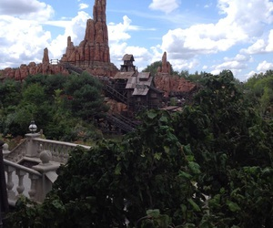 attraction, disney, and mountain image