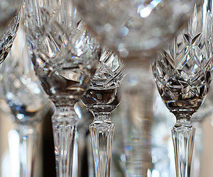 crystal, glass, and goblet image