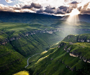 africa, nature, and clouds image