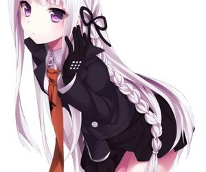 anime, anime girl, and danganronpa image