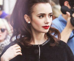 lily collins, actress, and Queen image