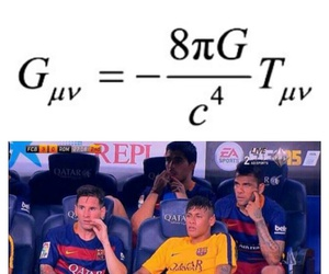 funny, messi, and neymar image