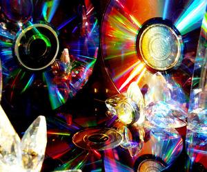 light and rainbow; cd image