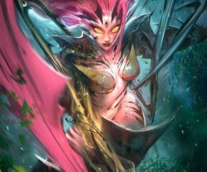 zyra and league of legends image
