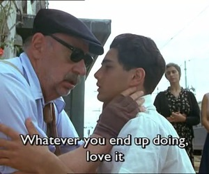 quote, movie, and nuovo cinema paradiso image