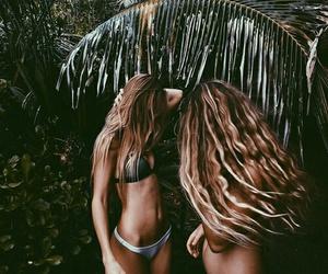 girls, paradise, and summer image