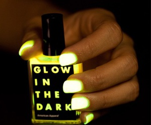nails, glow, and neon image