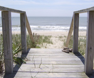 beach, bridge, and inspiration image