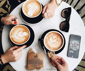 coffee, food, and friends image