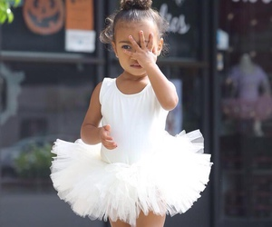 north west, kim kardashian, and baby image