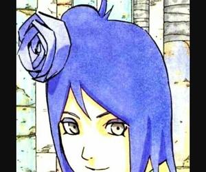 manga, naruto shippuden, and konan image